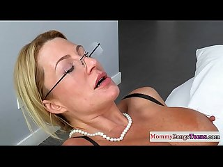 Bigtitted spex stepmom rimming during sex