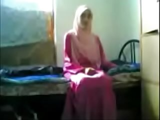 Arab Indin Girl Neamah Tudung with BF (new)