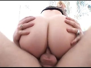 Blonde anal who is she