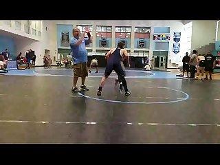 Lutador de Wrestling de pau duro