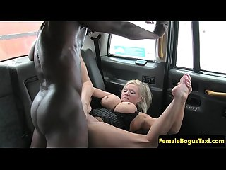 British cabbie babe cocksucks black passenger