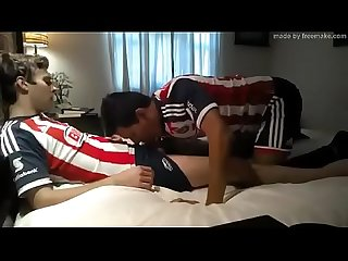 Soccer gay romantic