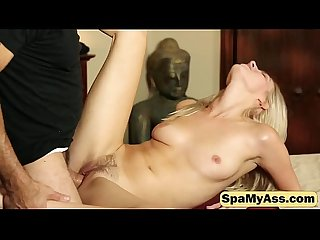 Young blondie goes naked and sucks A dick before it gets inside of her 01 1080p