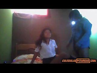 Profesor se folla a Colegiala inocente por dinero y Ella acepta descarga aqui colon xperritas period