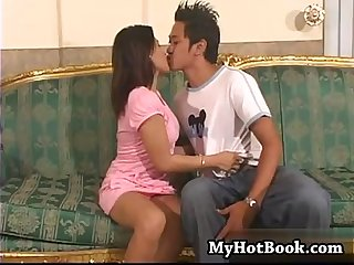 Jersey is a lusty busty asian brunette who just l