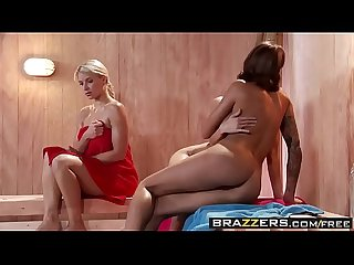 Brazzers - Hot And Mean - ( Jenni Lee, Juelz Ventura) - Hot Sauna Pussy