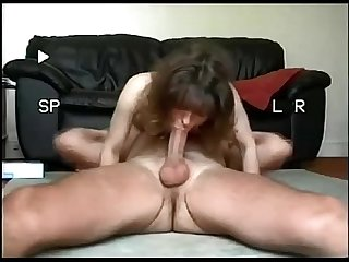 Amateur horny wife fuck and cum in mouth