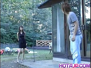 Hijiri Kayama gets doggy and cum on street