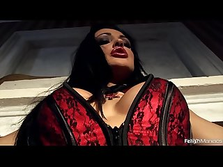 The young stunning aletta ocean pisses while bound