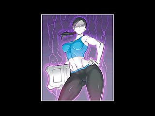 Wii fit trainer hentai compilation