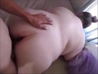 Big Fat Bitch Gets Pussy Fucked Doggystyle Hard & Deep