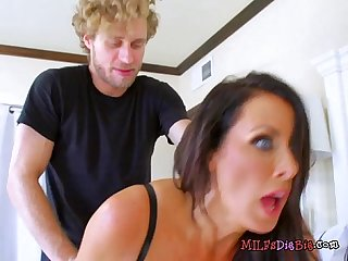 Mature hottie reagan foxx gets humped by plumber