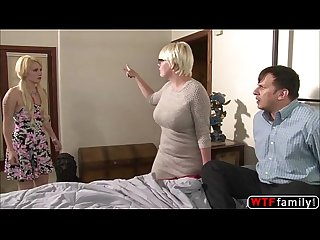 Horny anthony rosano gets threesome with her gf and her gf stepmom
