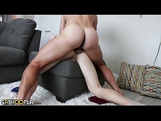 Hairy Otter Fucks Straight College Jock Until He Cums