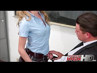 Blonde Teen Getting Fucked By Her High School Teacher - InnocentHighHD.com
