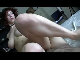 Mostly pov coupling with well built amateur