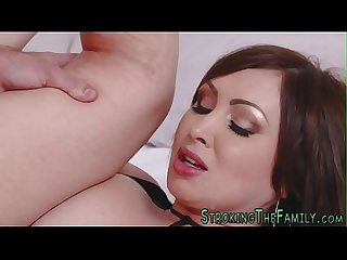 Milf whore spunks rod