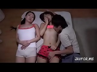 Japanese hot step mom and her friend full video scene 3