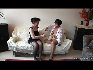 Old lesbian threesome