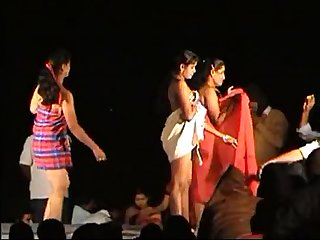 naked stage dance in andhra india
