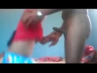 Indian young couple sucking licking cum drinking hot fuck sex act clip1