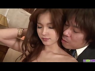 Amazing threesome to bang both Mei Haruka love holes - More at 69avs com