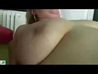 Old granny paid younger man to fuck her period real amateur