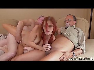 Old grandpa cums inside xxx frankie and the gang take a trip down