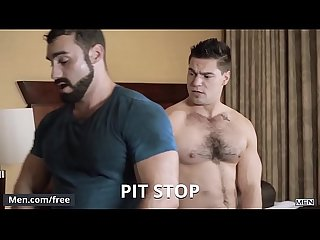 Aspen Jaxton Wheeler - Pit Stop - Str8 to Gay - Trailer preview - Men.com