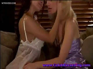 Ann Marie Rios and Beverly Lynne in Lingerie then lesbian