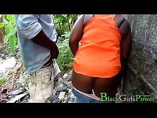 Rodrigo Fucked His Village Lover Chioma In The Bush And The Villagers Almost Caught Him In The Act..