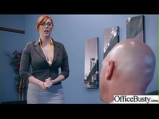 Hard Sex Tape In Office With Big Round Tits Sexy Girl (Lauren Phillips) video-16