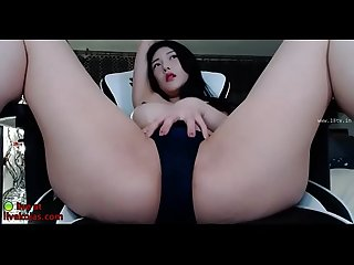 Big tits korean sensual teasing