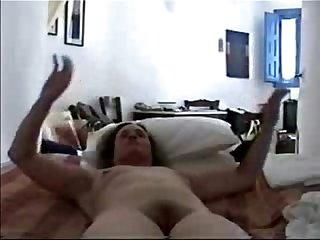 Great stolen Video of my cute mom masturbating period she self taped