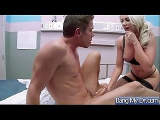 Horny Patient (gigi allens) Sex Treat In Hard Style Sex By Doctor video-12