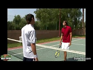 Tennis gay jocks fucking outdoors