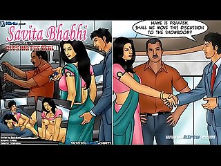 Savita Bhabhi episode 76 closing the deal