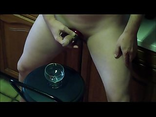 Submissive Hubby secretly cum hard while Daddy hatefuck his Wife