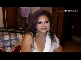 Bhabi and her male friend horny sex talk in bangla