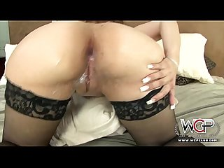 One white fat butt on two bbc