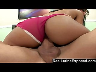 Reallatinaexposed busty latina babe gets plowed