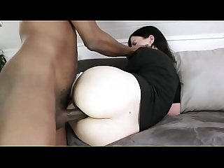 Gorgeous Blonde with Big Tits from Snapchat Gets Fucked by Her First Black Boy