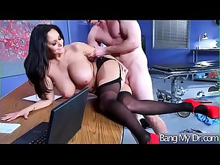 Sex Tape With Doctor And Sluty Wild Patient (Ava Addams) video-06