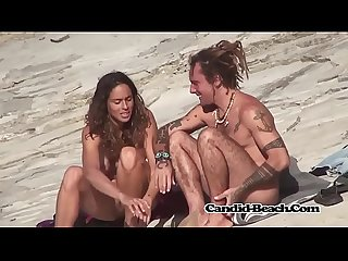 Hairy pussy fit nudist ladies voyeur beach