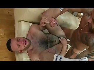 Latin guy having strong gay sex very hot