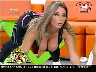 Big tits morning show tv