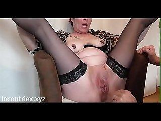 Matura italiana fisting con orgasmo squirting