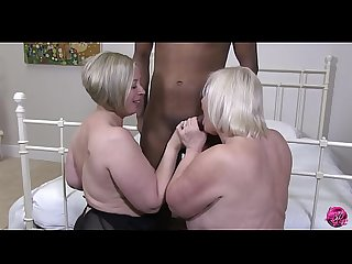 LACEYSTARR - Two Matures Hot for Black