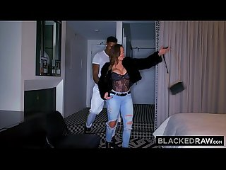 BLACKEDRAW Cuckold wife is obsessed with BBC