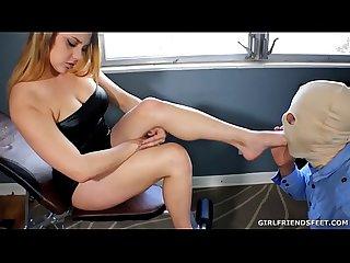 Femdom Foot Bitches: Maria Jade